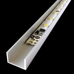 Светодиодные светильники из алюминиевого профиля своими руками